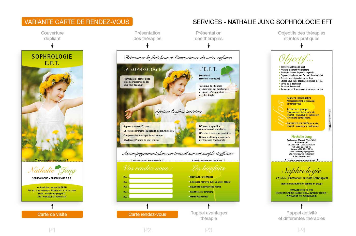 Depliant CardMail Loutil De Communication Ideal Pour Une Presentation Dactivite Condensee Et Efficace