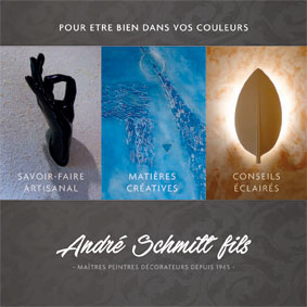 Brochure Andre Schmitt Fils peintres decorateurs